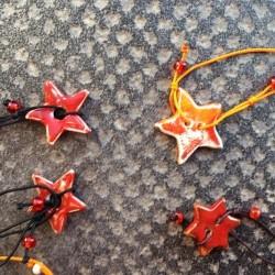 bracelet céramique étoile